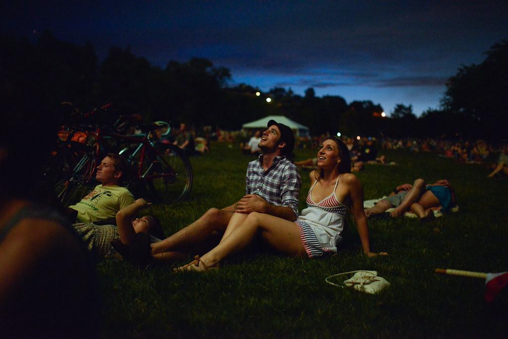 watching fireworks | Nathan Congleton | Flickr
