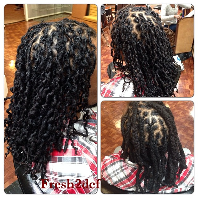before and after braided dreads    marvelouskutz  barbersh