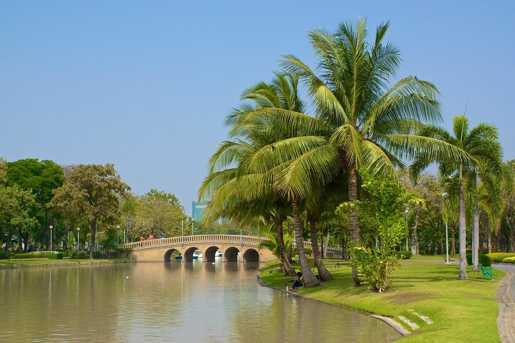 Chatuchak Park In Bangkok Thailand Uwe Schwarzbach Flickr