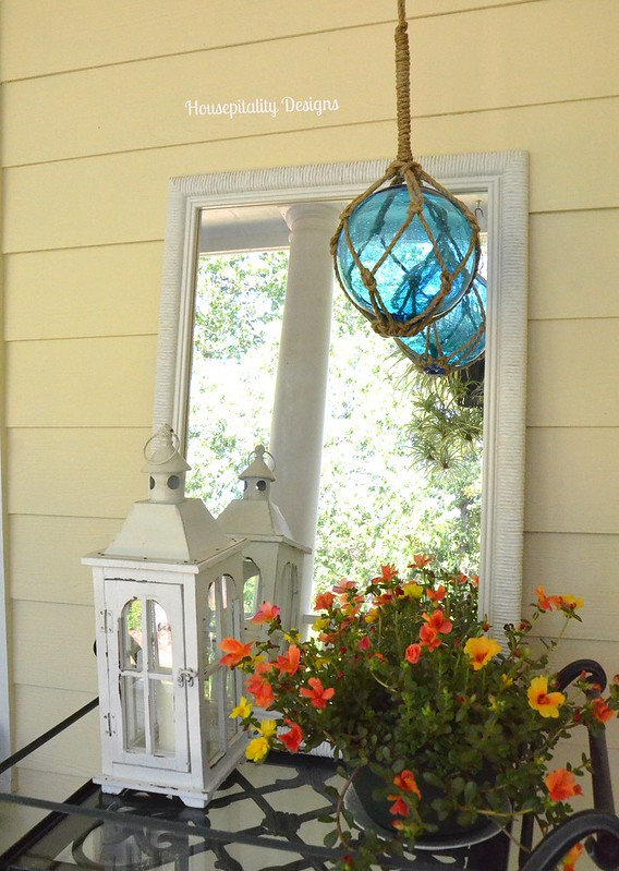 Upper Back Porch  Tea Cart-Housepitality Designs
