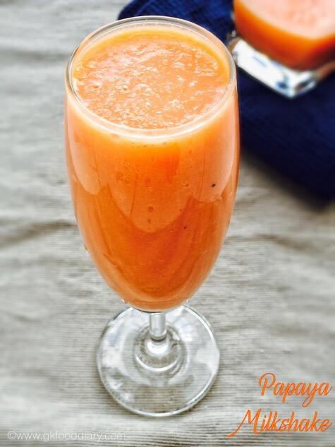 Papaya Milkshake 3