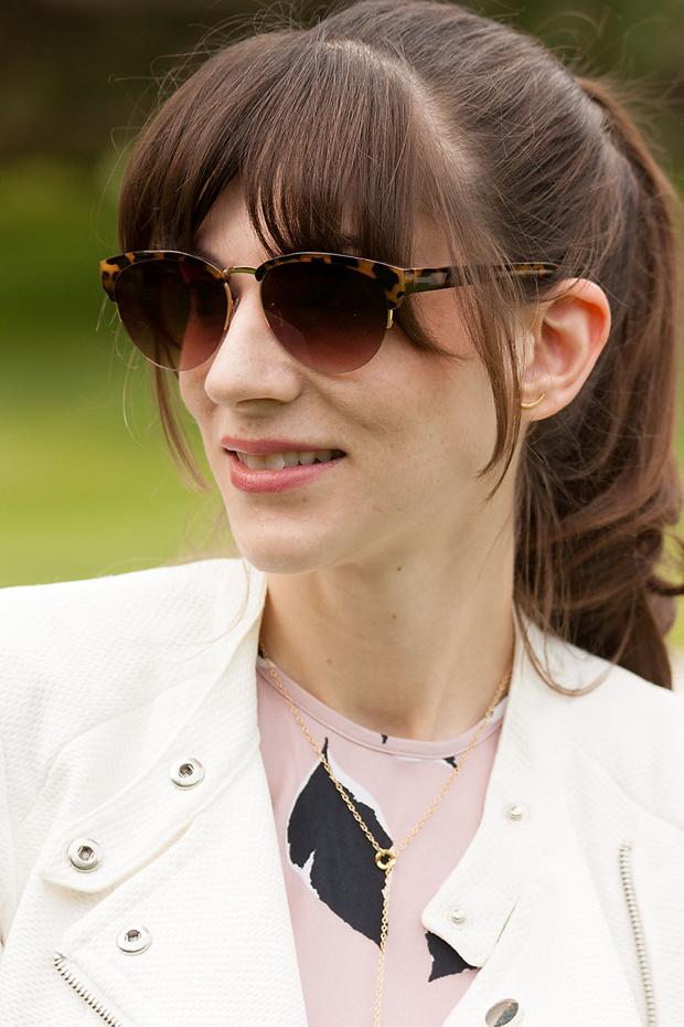 Loft Sunglasses, Gorjana Jewelry