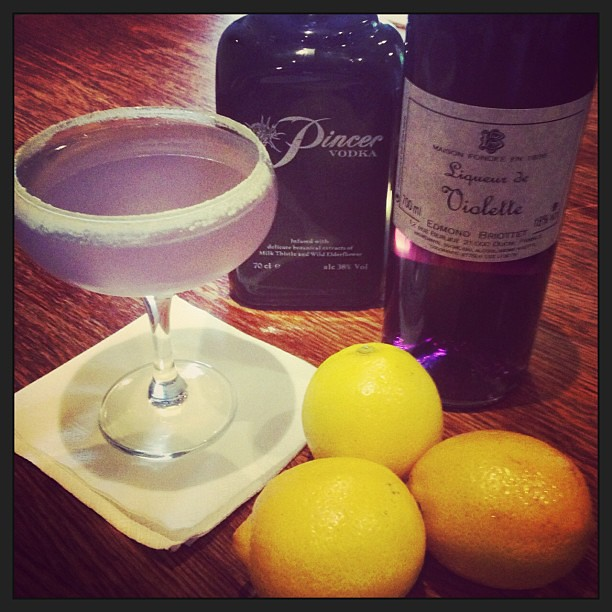 it u0026 39 s  cocktail hour  here u0026 39 s our special parma violet marti