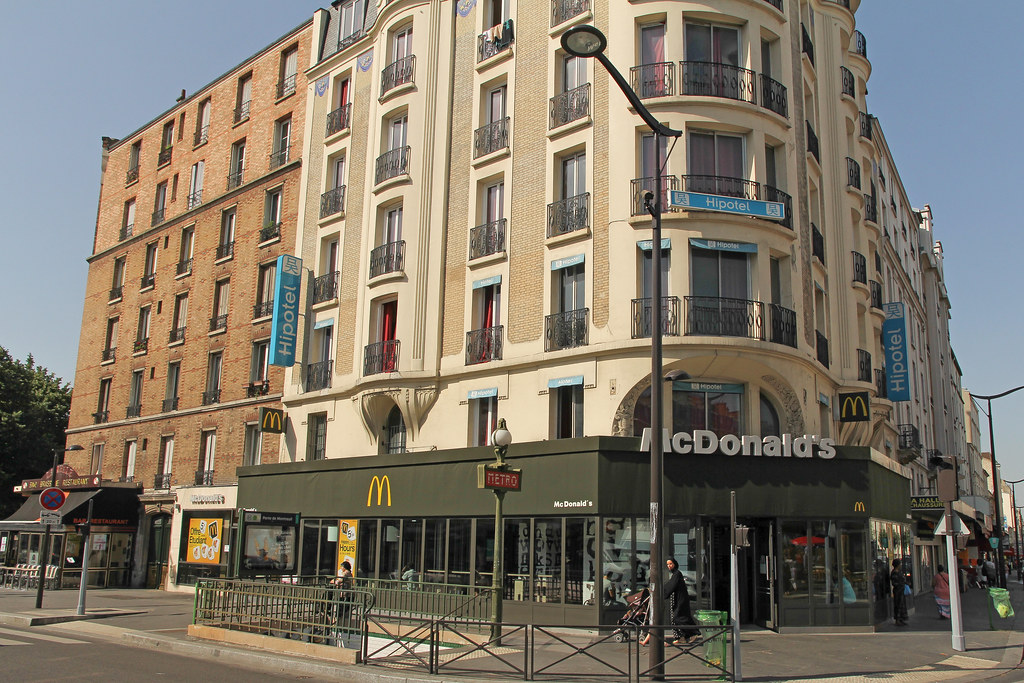 mcdonald 39 s paris porte de montreuil france one of the 7 flickr. Black Bedroom Furniture Sets. Home Design Ideas