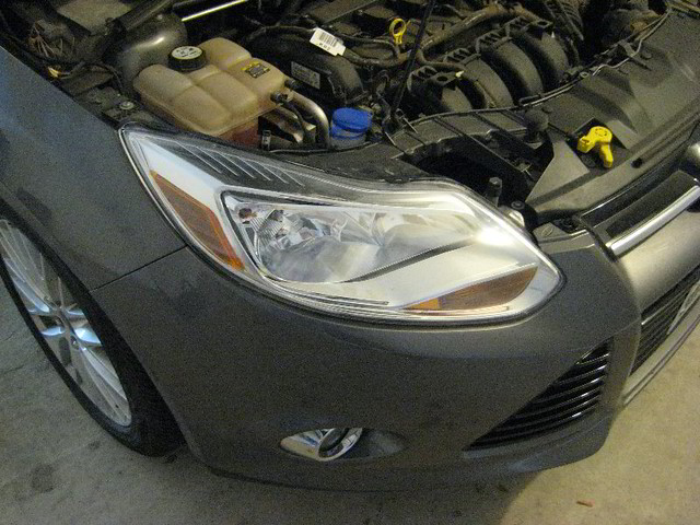 Ford       focus    high beams stuck on