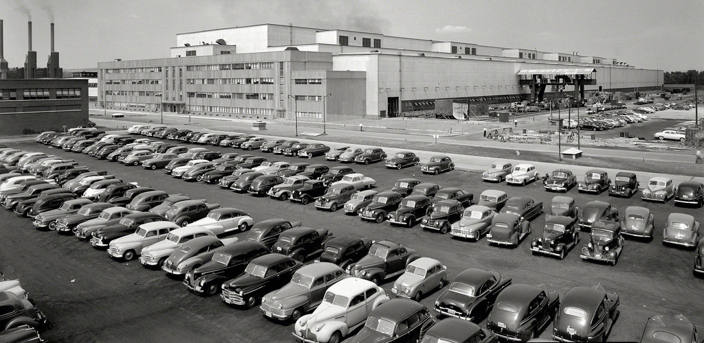San Jose Car Dealerships >> General Electric turbine plant with LOTS of 1930s and 1940 ...