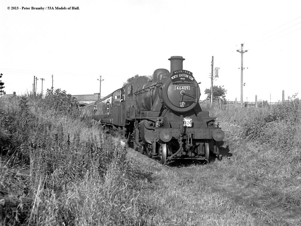 27/09/1963 - Dunnington Halt (DVLR), North Yorkshire. | Flickr