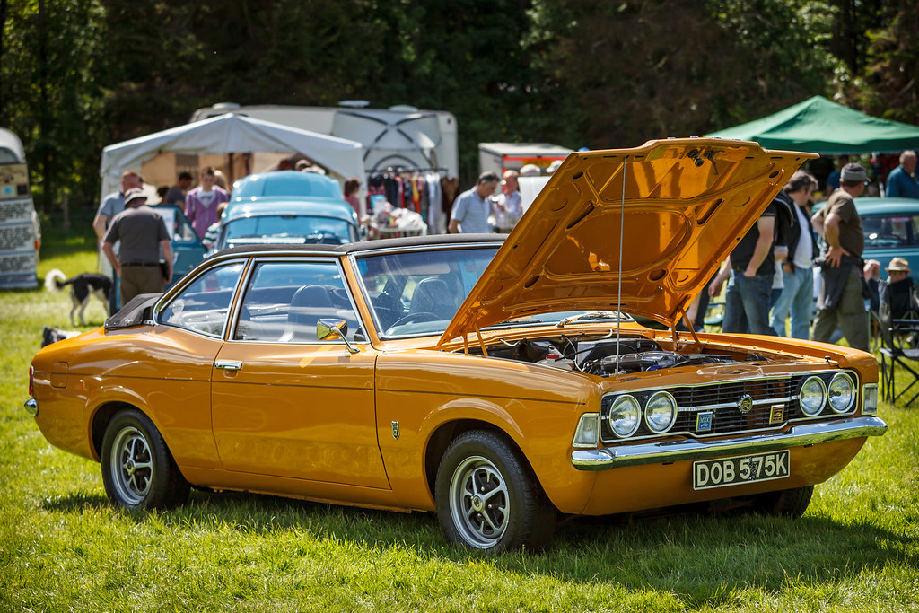 "Mk3 Ford Cortina | ""Yellow"" 1972 Mk3 Ford Cortina Crayford ..."