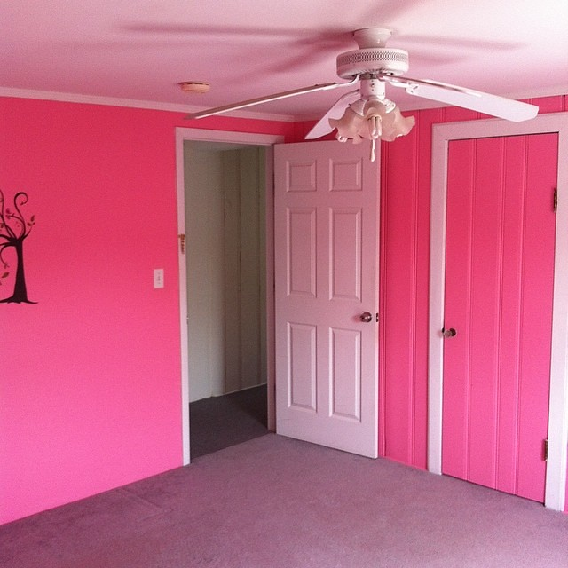 Pictures Of Pink Painted Rooms