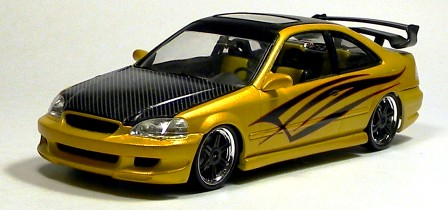 fast furious honda civic si coupe 1 25 scale revell model kit 85 4331 review right on replicas. Black Bedroom Furniture Sets. Home Design Ideas