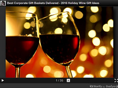 Storify corporate wine gift basket image