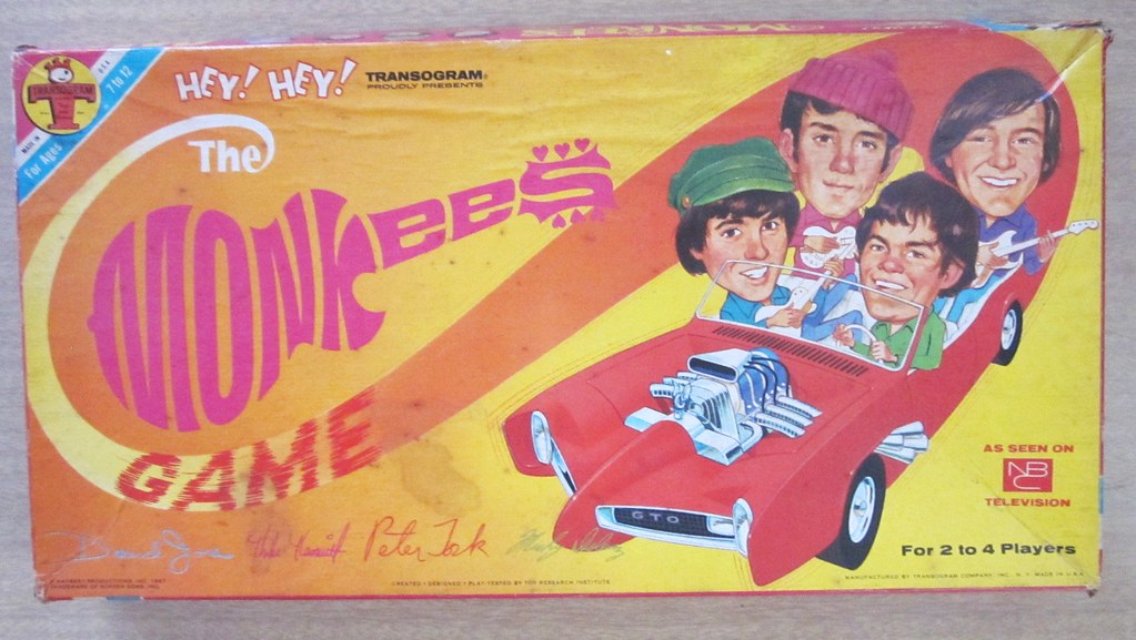 The Monkees Board Game - Hey! Hey! We're The Monkees! - Flickr