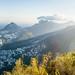 Rio de Janeiro from the Corcovado (Christ the Redeemer)