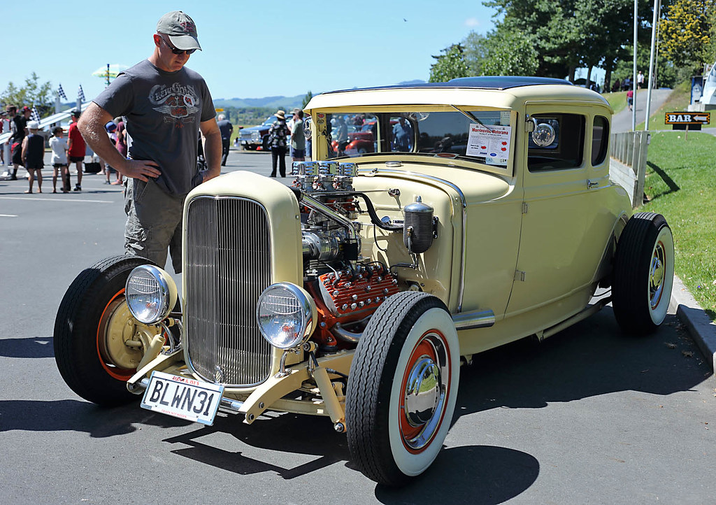 1931 Ford Model A Coupe Blown Flathead V8 2013