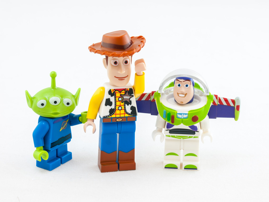 Lego Toy Story : Lego toy story characters from permission