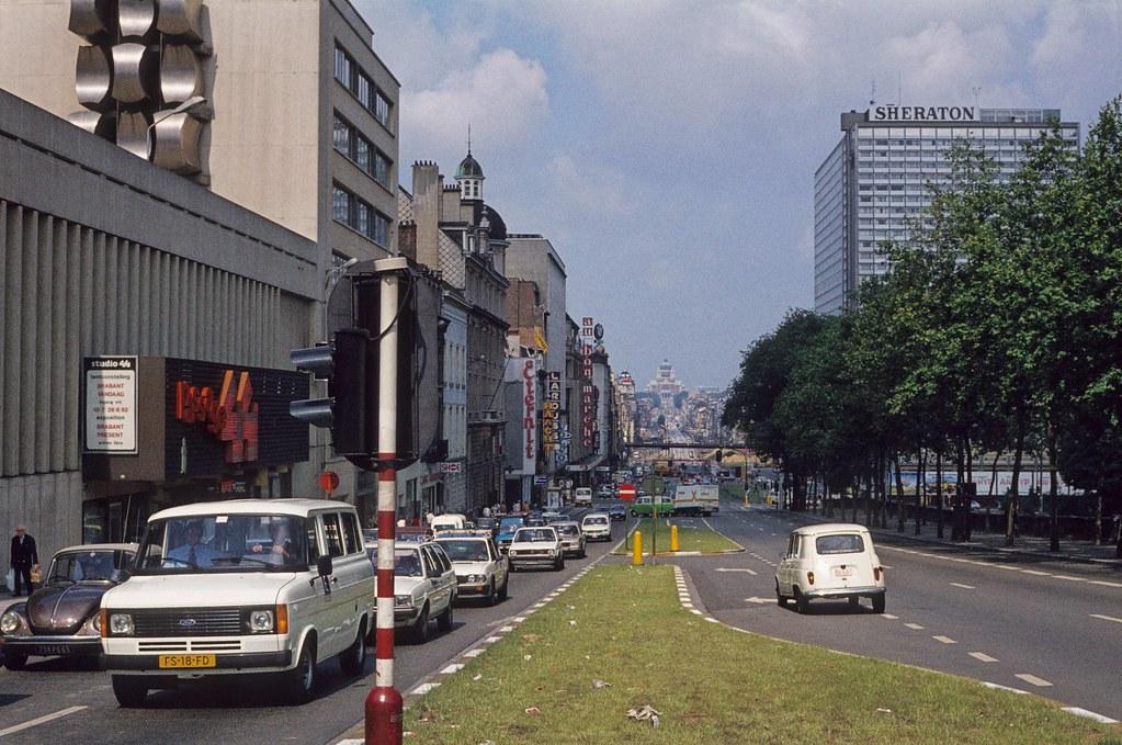 1982 06 boulevard du jardin botanique bruxelles michel for Boulevard du jardin botanique 20