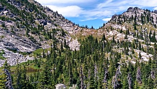 Pass above Hunt Lake