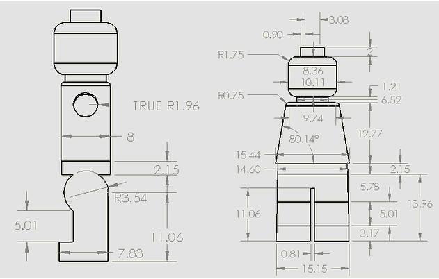 Minifig Blueprint | Really helpful minifig blueprint ...
