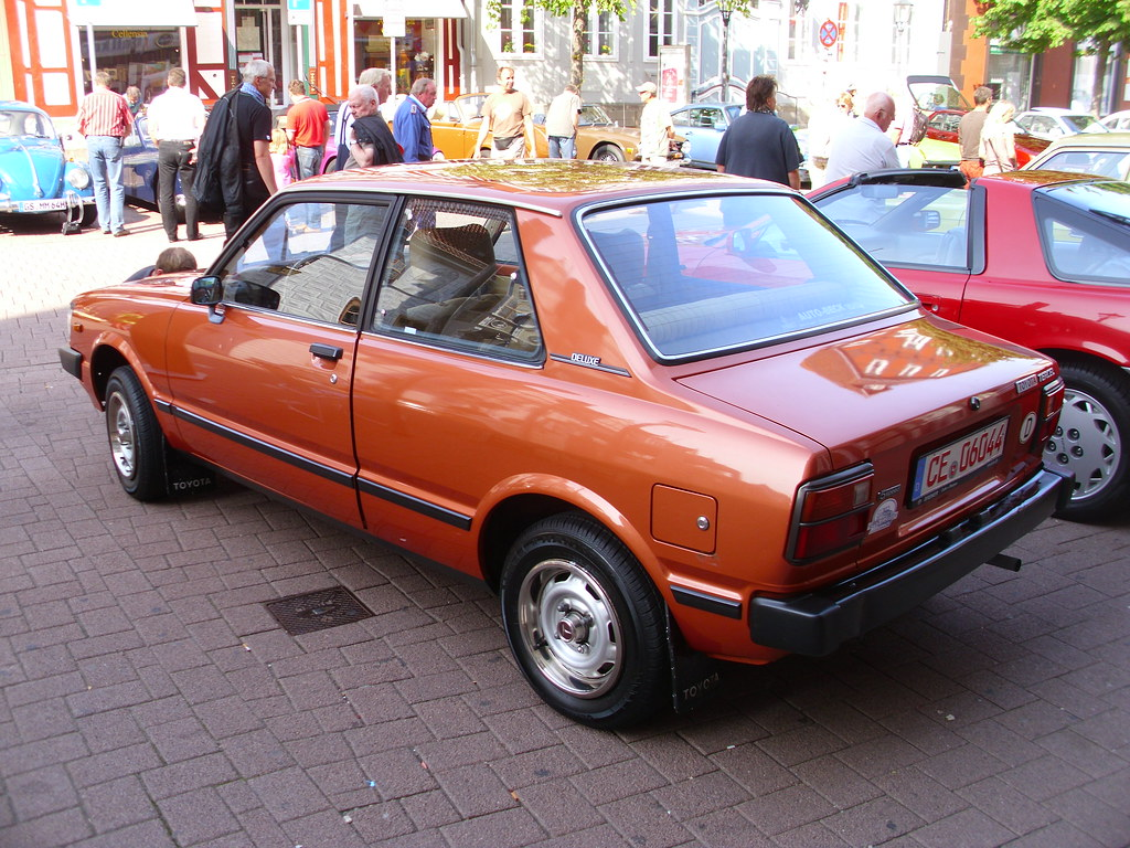 Toyota Tercel Al11 Deluxe 1981 Celle 2013 Hog