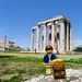 Travels of badger - Temple of Olympian Zeus
