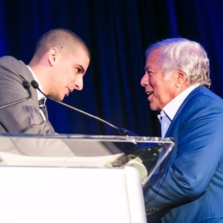 Ohad Elhelo and Robert Kraft - Property of Forbes