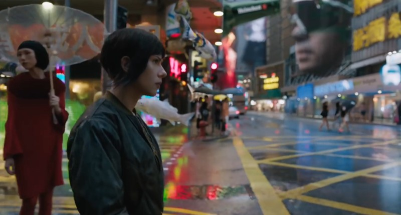 Ghost in the Shell en Hong Kong