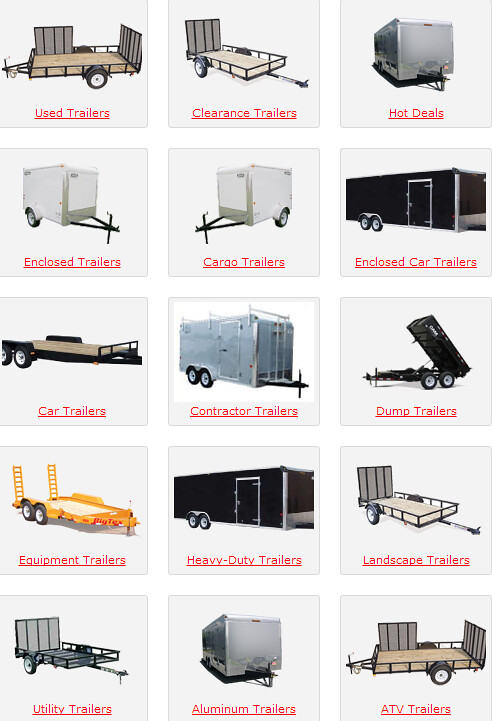 All Pro Trailers >> Trailer Super Store | All types of trailers both open and en… | Flickr