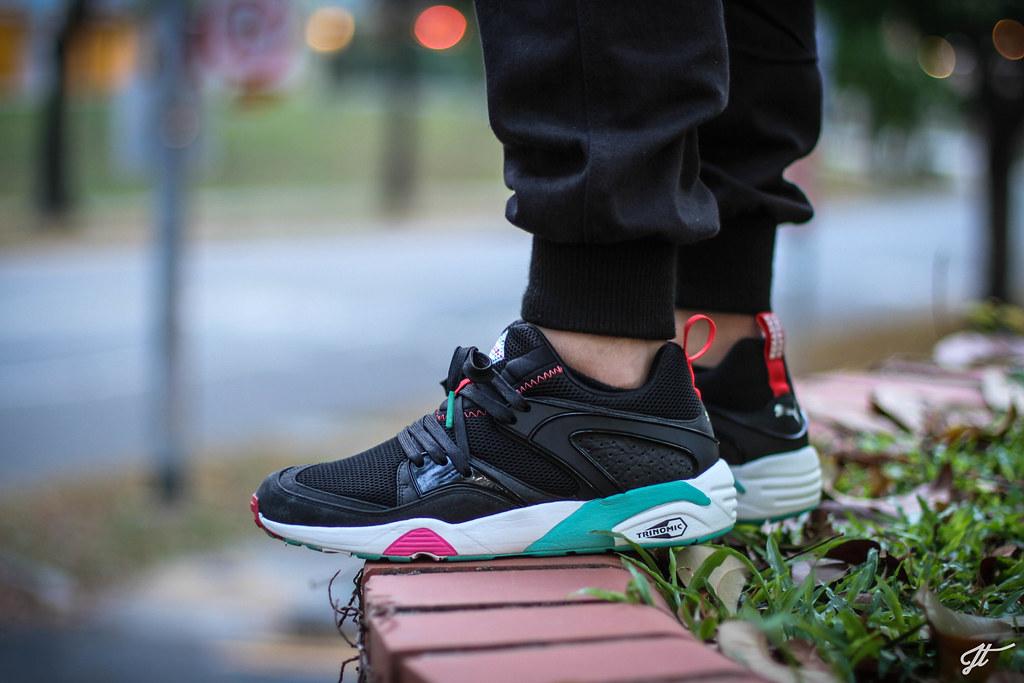 puma x sneaker freaker blaze of glory black beast