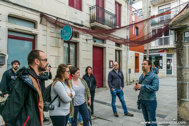 Calle Lirio, en las calles antiguas de Cangas