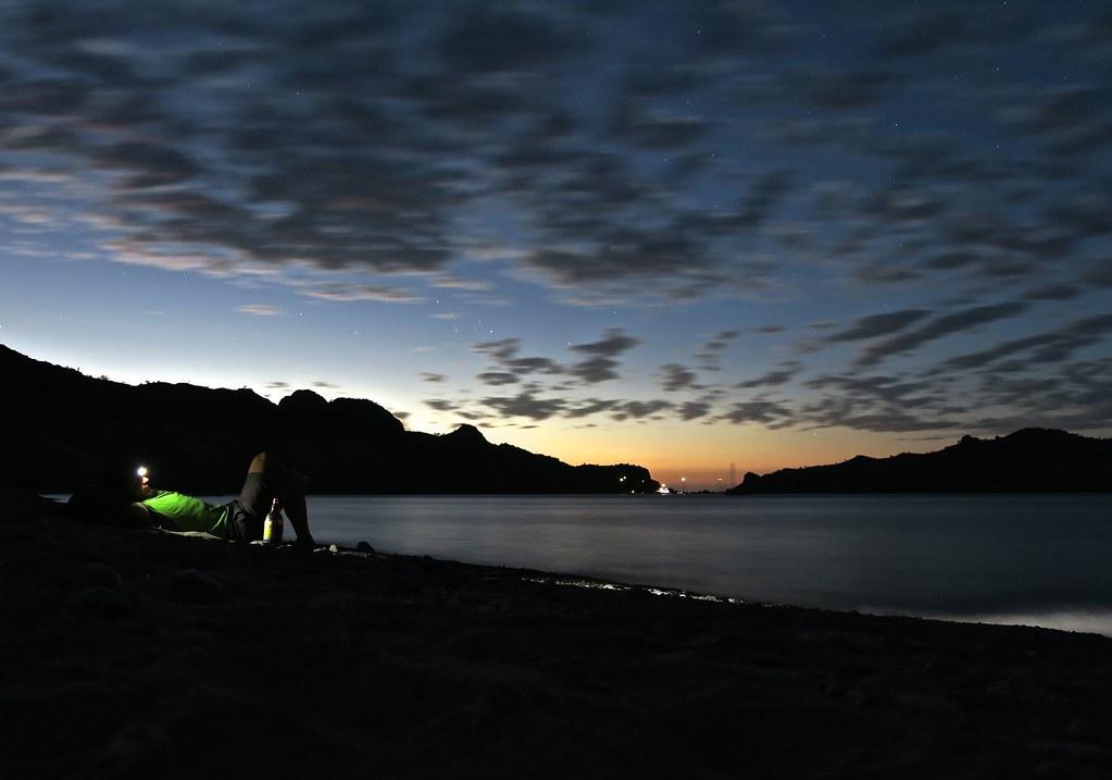 Setena nit a Agua Verde abans no arribés, finalment, una 'panga' que anés cap al nord.