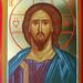 2017 - Icône du Christ Sauveur - Christ the Savio Icon.  Main de - Hand of Michèle Lévesque