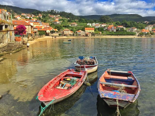 Combarro es una de las visitas típicas que hacer desde Sanxenxo o Portonovo