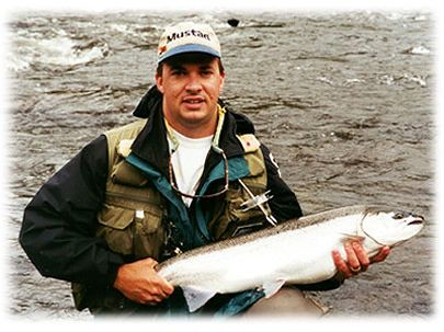 Jeff p with an incredible bright fresh majic bullet meta for Best time for salmon fishing in pulaski ny