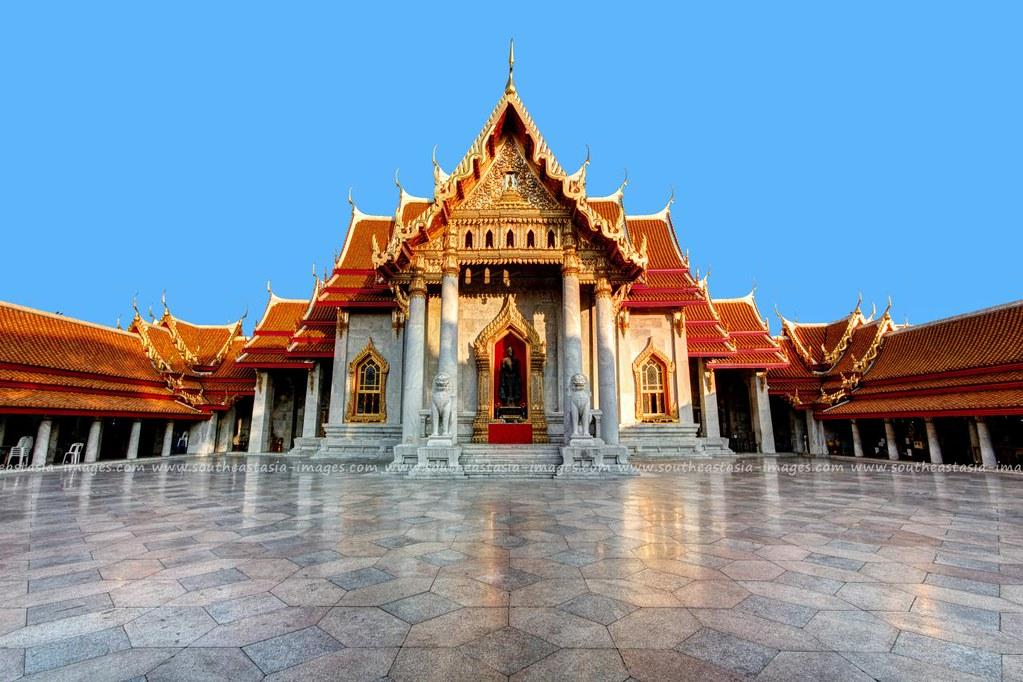 The Marble Temple / Wat Benchamabophit / Bangkok  Wat Bench…  Flickr