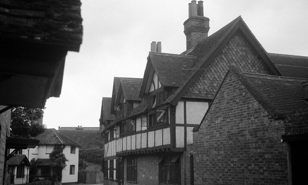 England 1938, The Street in Wonersh, Surrey 11-012
