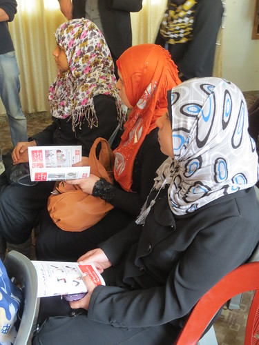 Advocacy_Risk Education - Palestine | by United Nations Development Programme