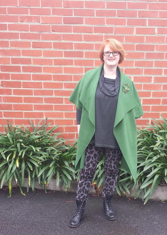Tessuti Sydney jacket in wool cashmere from deep stash
