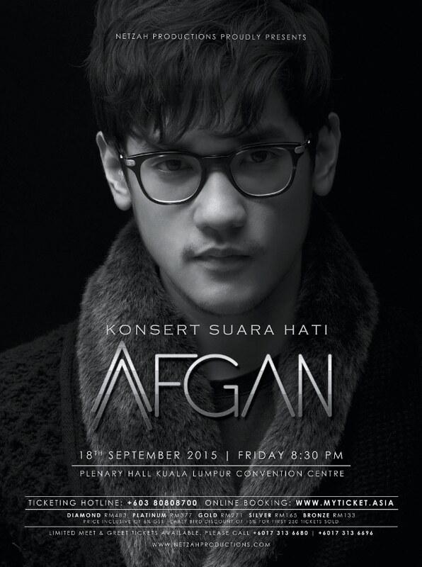 Konsert Suara Hati Afgan
