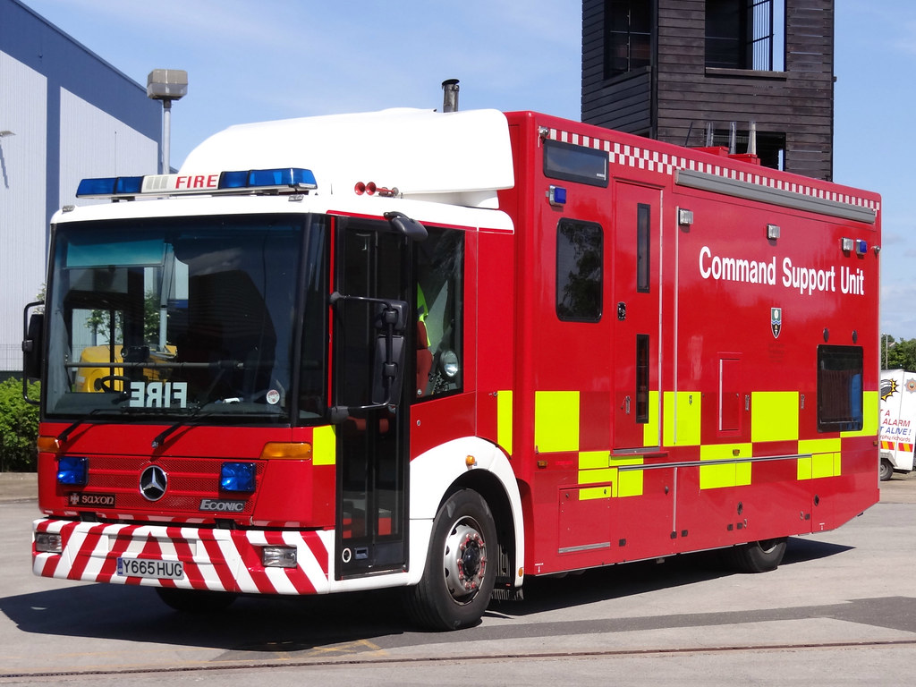 South Yorkshire Fire Rescue Service Mercedes Econic Comm
