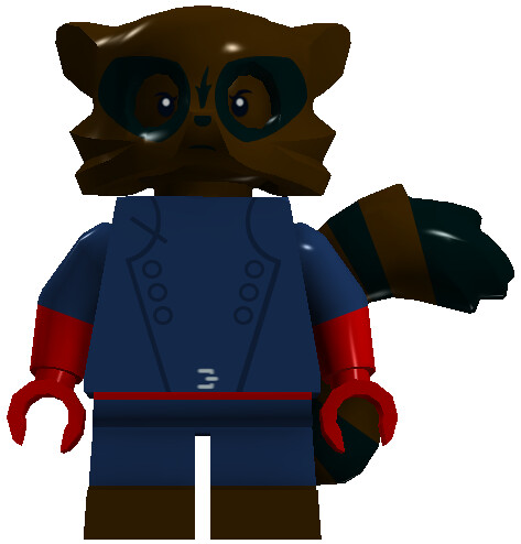 Lego Marvel Super Heroes Rocket Raccoon Rocket raccoon
