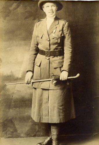 Portrait Of Vera Jack Holme In Scottish Women S Hospital
