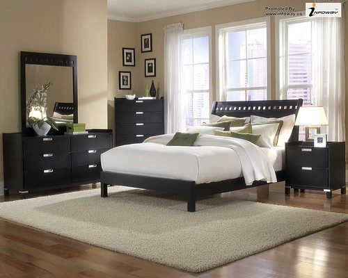 beautiful design home elegant black and white bedroom | by Infoway LLC - Website Development Company