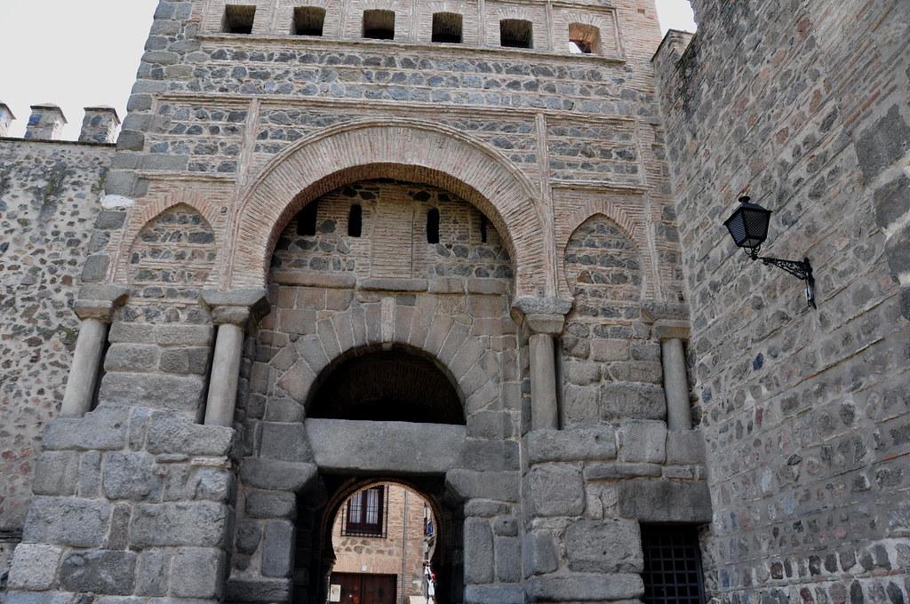 268 - Puerta de Alfonso VI o Puerta de Bisagra - Toledo (S ...
