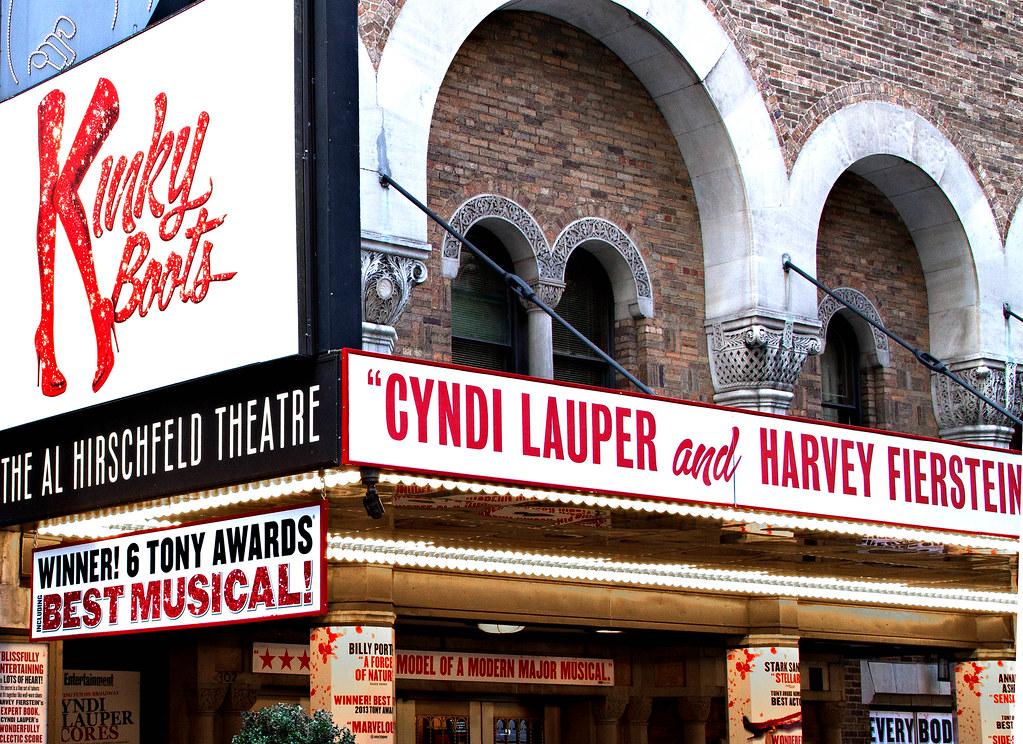 Kinky Boots At Al Hirschfeld Theatre Kinky Boots At Al