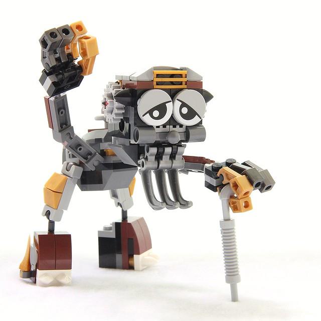 LEGO Mixels 5 MOC: John Oldman
