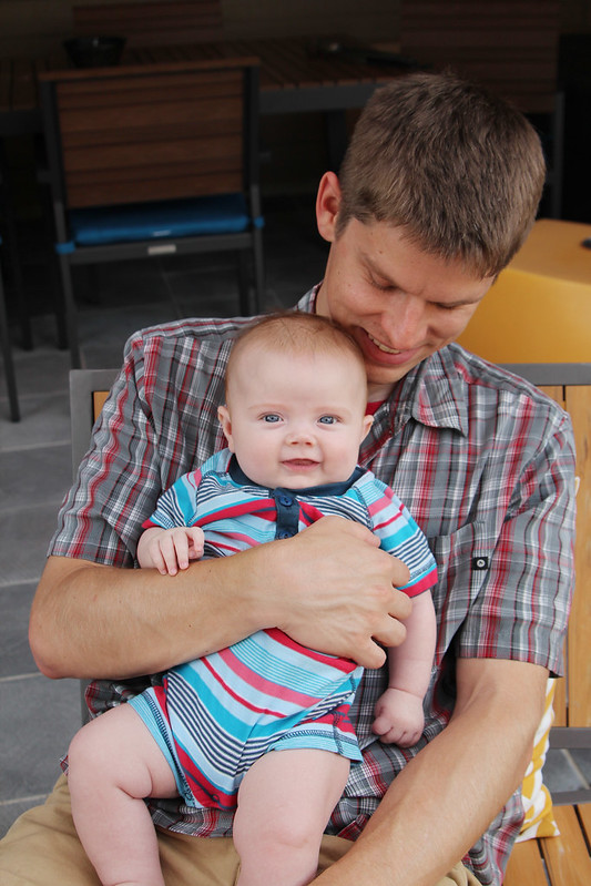 Uncle Brett and Finn