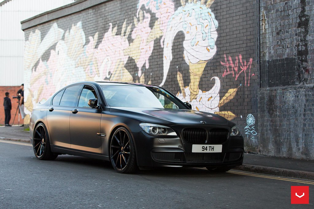 Bmw F01 7 Series On Cvt Wheels Prestige Wheel Centre