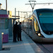 The tramway service between Rabat and Salé
