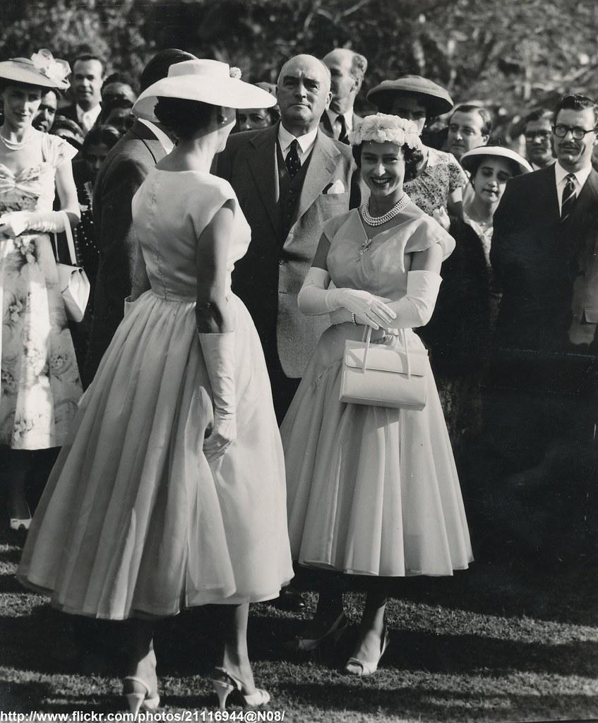Princess Margaret At Garden Party Date Sep Oct 1956 D