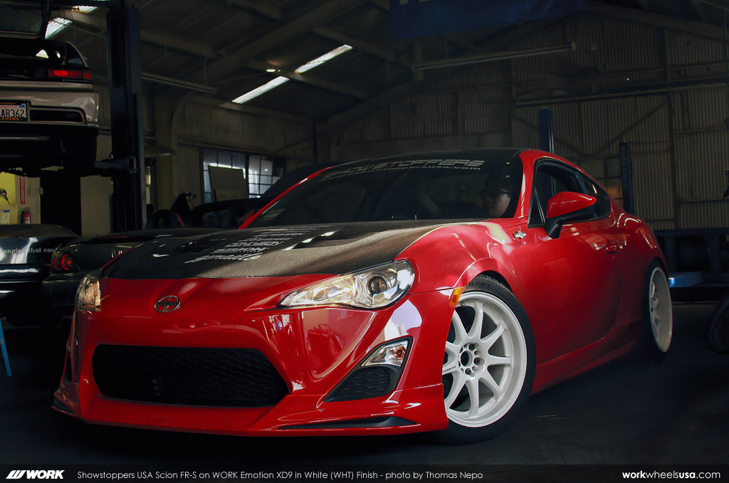 Showstoppers Usa Scion Fr S On Work Emotion Xd9 18 Quot Wht